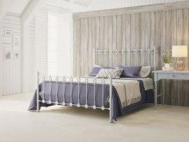 Кровать металлическая DreamLine Capella (2 спинки)