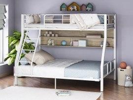 Кровать двухъярусная металлическая Гранада-1П 140
