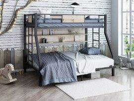 Кровать двухъярусная металлическая Гранада П 140