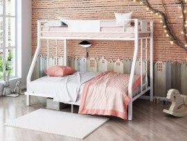 Кровать двухъярусная металлическая Гранада 140