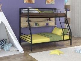 Кровать двухъярусная металлическая Гранада-2П