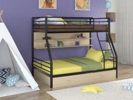 Кровать двухъярусная металлическая Гранада-2ПЯ