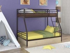 Кровать двухъярусная металлическая Гранада-2Я