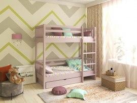Кровать 2-х ярусная PinoLetto Calori ( Калори ) с прямой лестницей