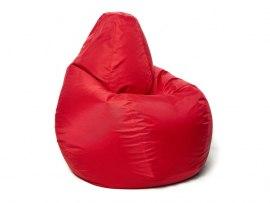 Кресло мешок Relaxline Груша в красном оксфорде