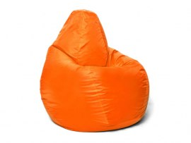 Кресло мешок Relaxline Груша в оранжевом оксфорде