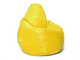 Кресло мешок Relaxline Груша в желтом оксфорде