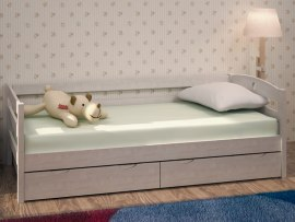 Кровать Детская Массив с ящиками Боровичи-Мебель