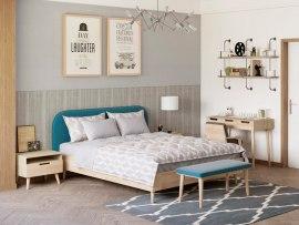 Кровать Райтон Lagom Plane Wood