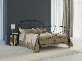 Кровать металлическая DreamLine Laiza (2 спинки)