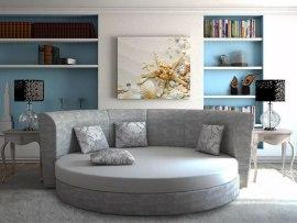 Круглая кровать-диван SleepArt Морион