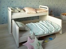 Детская выдвижная кровать Vita Mia Мурзилка