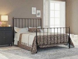Кровать металлическая DreamLine Paris (2 спинки)