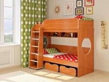 Кровать детская двухъярусная Легенда 7.1 ( с выдвижными ящиками )