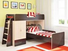 Двухъярусная кровать чердак Легенда 3.4 ( двуспальная )