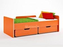 Кровать детская Легенда 14.1 ( с выкатными ящиками )