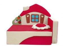 Детский раскладной диван - кушетка М-Стиль Домик