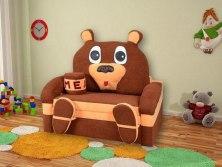 Детский раскладной диван М-Стиль Мишка