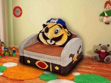 Детский раскладной диван М-Стиль Пират