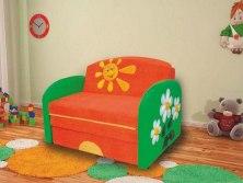 Детский раскладной диван М-Стиль Полянка