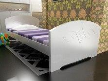 Кровать подростковая из массива дерева Vita Mia Жанна
