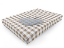 Простынь непромокаемая Mr.Mattress Plaid L