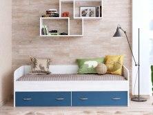 Кровать Ярофф с выкатными ящиками