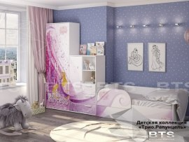 Детская комната BTS Трио Рапунцель