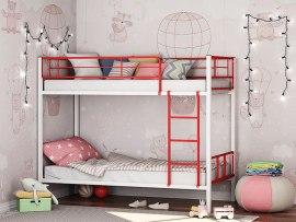 Кровать двухъярусная металлическая Севилья - 2.01 комбо