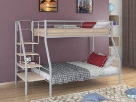 Кровать двухъярусная металлическая Толедо - 1