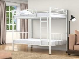 Кровать двухъярусная металлическая Валенсия 120 ( для взрослых и детей )