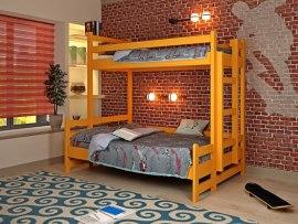 Кровать детская двухъярусная из массива дерева Vita Mia Юность