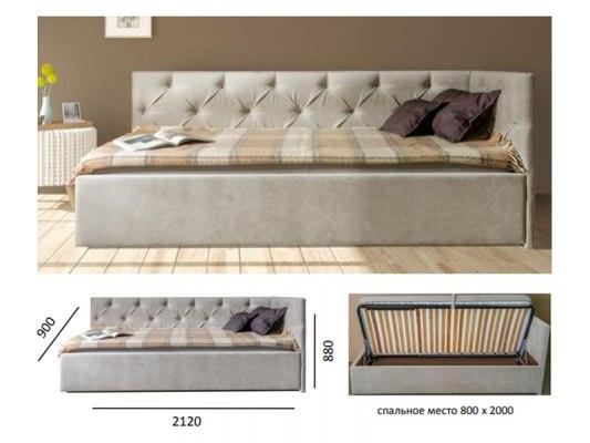 Кровать-тахта Soft Bed Kelly 2