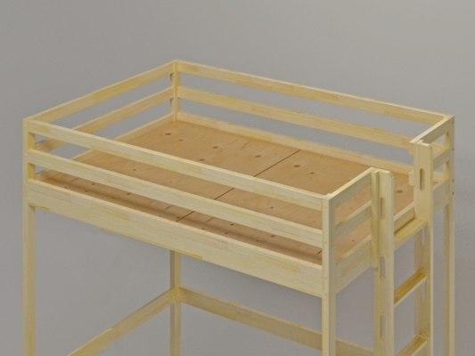 Детская кровать-чердак Vita Mia Bravo (Браво) 5