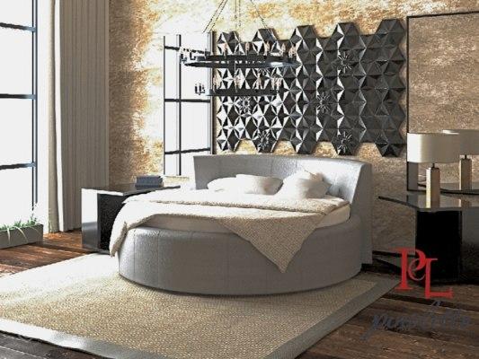 Кровать круглая PinoLetto Bella ( Белла ) 2