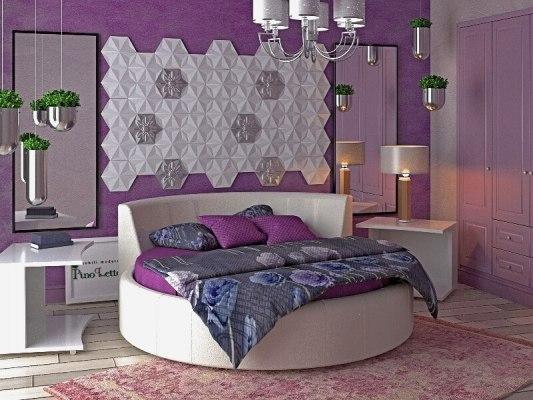 Кровать круглая PinoLetto Bella ( Белла ) 1