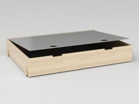 Ящик для белья с крышкой 1