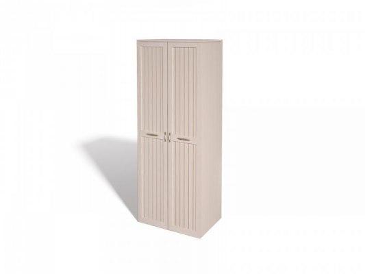 Шкаф для платья и белья Интеди ИД 01.61 Соната ( Дуб млечный ) 1