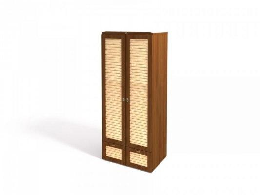 Шкаф для одежды Интеди ИД 01.135 Робинзон ( Ноче гванери + штрих лак ) 1