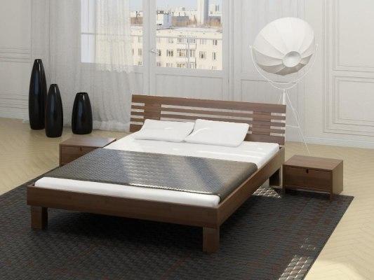 Кровать Letta-R Clare-Firu 200 (массив бука) 1