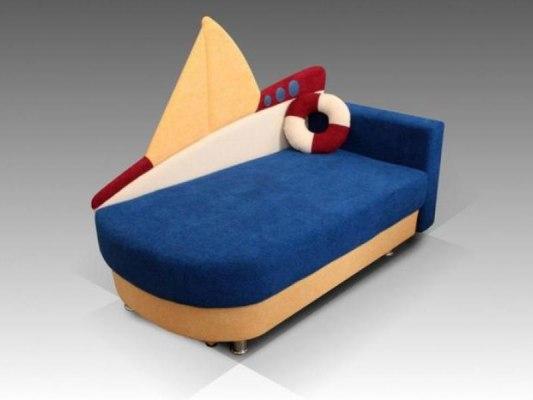 Детский диван Малина Кораблик 1