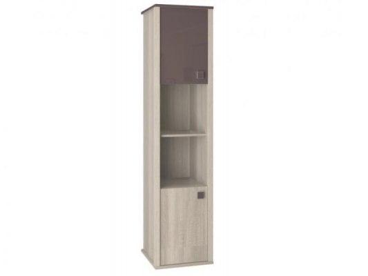Шкаф для книг Интеди ИД 01.16 Хэппи 1