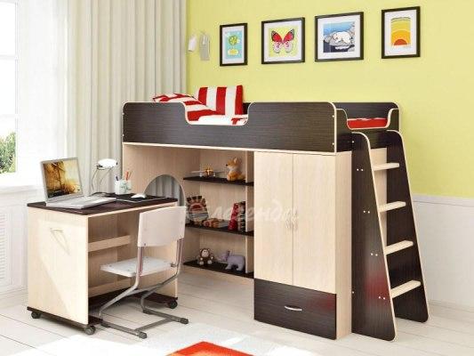 Кровать чердак Легенда 3.2 ( для детей и взрослых ) 1