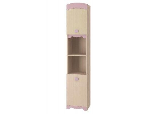 Шкаф для книг Интеди ИД 01.142а Pink 1