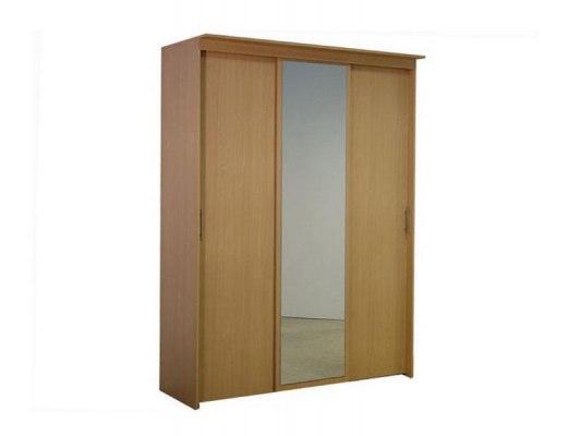 3-х дверный шкаф-купе Орматек с 1 зеркальной дверью 1