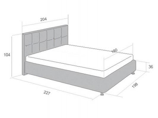 Кровать Perrino Флорида 3.0 3