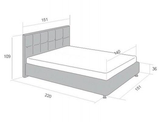 Кровать Perrino Паола 3.0 4