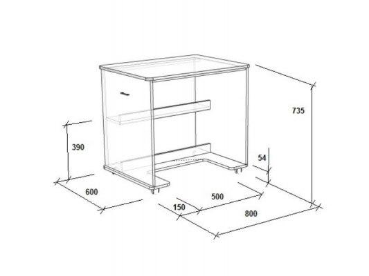 Кровать чердак Легенда 2.2 ( с письменным столом ) 5