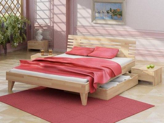 Кровать Letta Clare-Arce ( массив бука ) 1