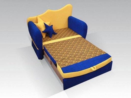 Детский раскладной диван - кровать Малина Ночка 3